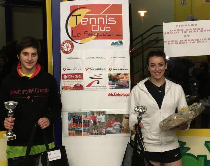 Finalistes Open Dames